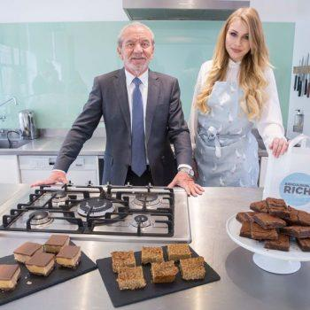 The Apprentice 2016 Winner and Lord Sugars business partner Alana Spencer launched her business Ridiculously Rich by Alana at Borough Market